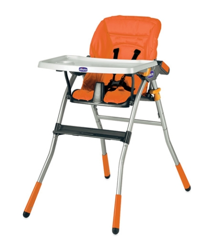Chicco Jazzy Highchair (Orange Color)