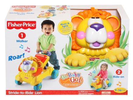 Fisher-Price Go Baby Go Stride-to-ride Lion