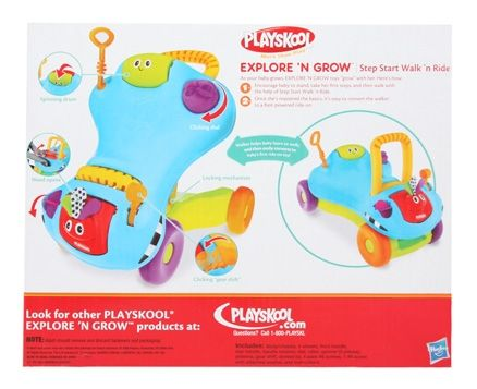 Playskool Explore'n Grow, Step Start Walk n Ride