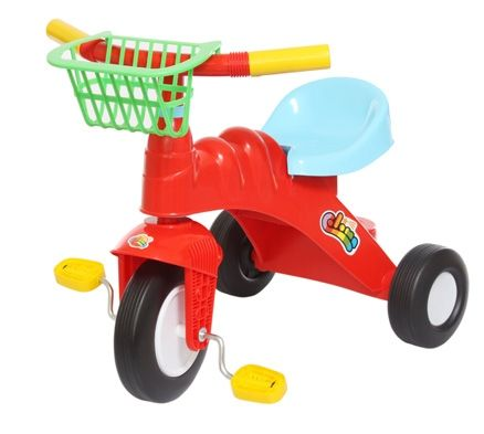Tricycle with basket