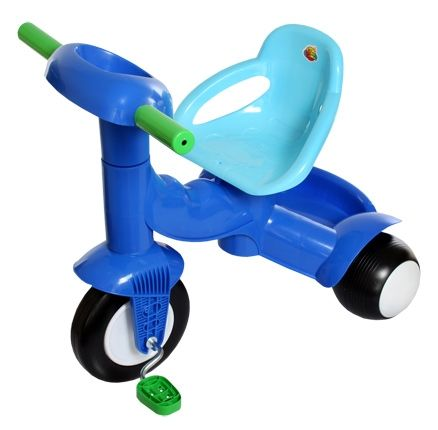 Tricycle with handle (Blue Colour)