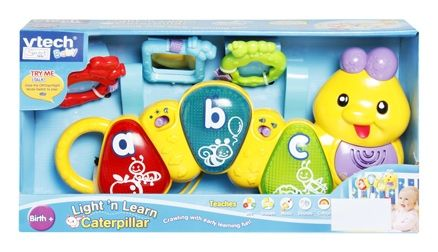 vtech light n learn caterpiller