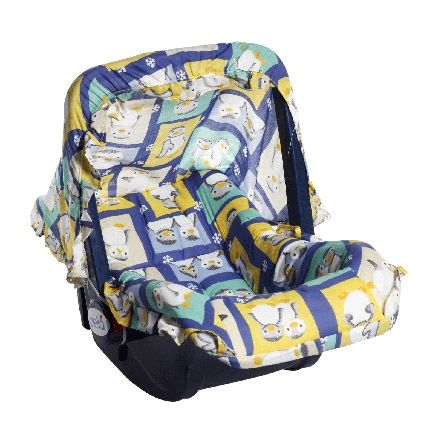 Baby Carry Cot (Blue)