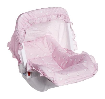Baby Carry Cot (Pink)