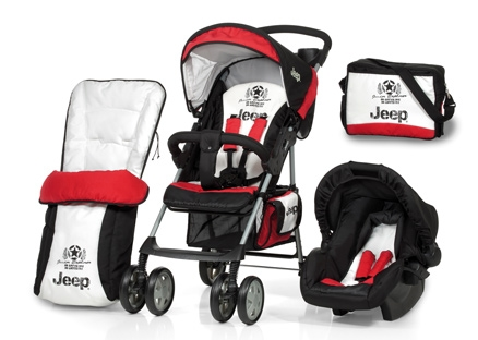 Hauck Jeep Shopper 6- Set Red Black