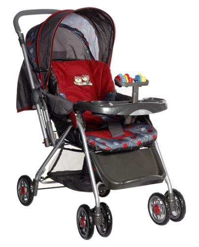Little Heart - Stroller (Red)