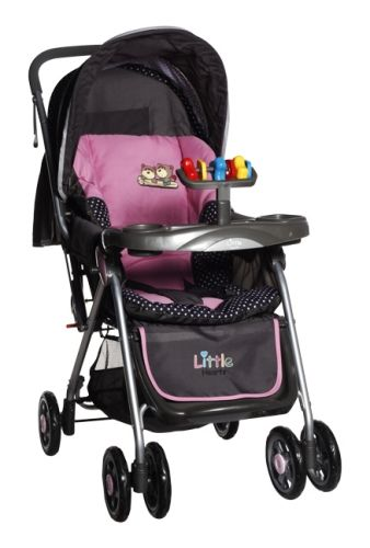 Little Hearts - Stroller (Pink)