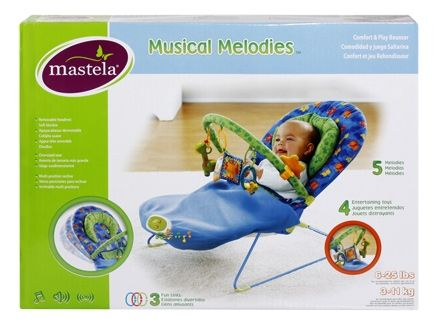 Mastela Musical Melodies Comfort & Play Bouncer