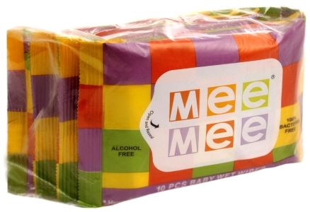 Mee Mee Baby Wet Wipes (Travel Pack), Unscented