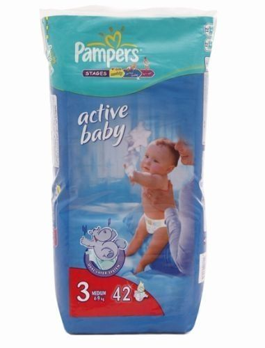 Pampers Active Baby (Imported)