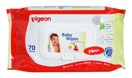 Pigeon - Baby Wipes (Travel Pack)