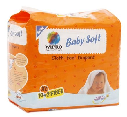 Wipro Baby Soft Cloth-feel Diapers