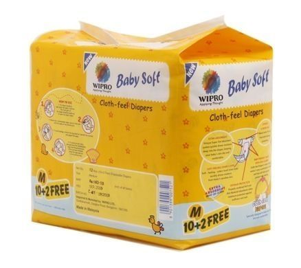 Wipro Baby Soft (Cloth Feel Diapers)