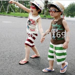 free-shipping-toddler-boys-suits-summer-suits-T-shirts-pants-set-boys-clothes-20pcs-lot