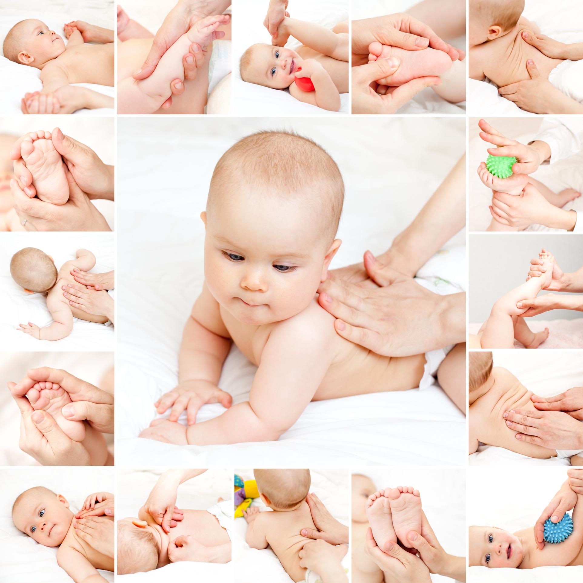 Массаж ребенка в домашних условиях