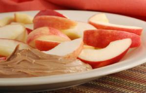 apple-wedges-peanut-butter