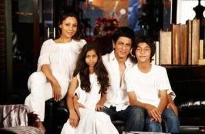 Shahrukh and Gauri Khan