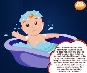 Baby Bathing Terror