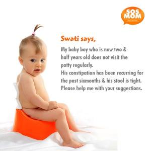 Dealing With Constipation In Toddlers