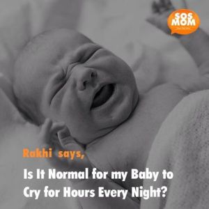 Babies cry at night for several reasons, usually easily cured